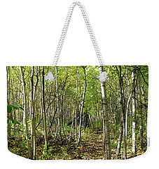 Deer Hide Weekender Tote Bag
