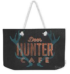 Deer Hunter Cafe Weekender Tote Bag by Edward Fielding