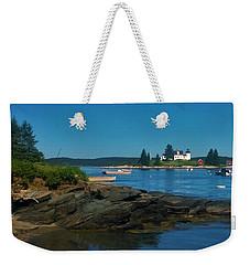 Deer Island Maine Weekender Tote Bag