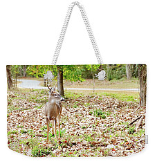 Deer Me, Are You In My Space? Weekender Tote Bag