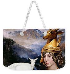 Deer Medicine Woman Weekender Tote Bag