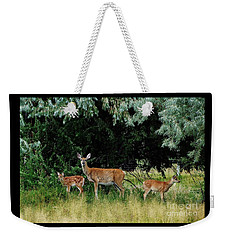 Deer Mom Weekender Tote Bag
