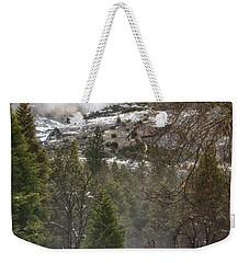 Deer Of Winter Weekender Tote Bag