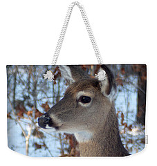 Deer Portrait Weekender Tote Bag