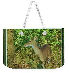 Deer Surprise Weekender Tote Bag