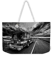 Deerfield Fire Dept Weekender Tote Bag