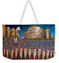 Defence Of Jerusalem Weekender Tote Bag