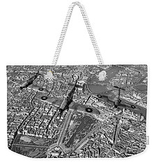 Weekender Tote Bag featuring the photograph Defence Of The Realm by Gary Eason