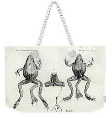 Deformed Frogs - Historic Weekender Tote Bag