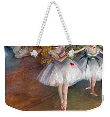 Weekender Tote Bag featuring the photograph Degas: Dancers, C1877 by Granger