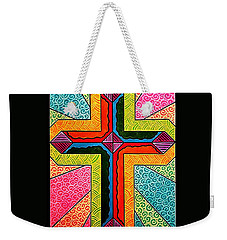 Dehler's Cross Weekender Tote Bag by Jim Harris