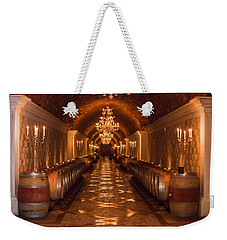 Del Dotto Wine Cellar Weekender Tote Bag