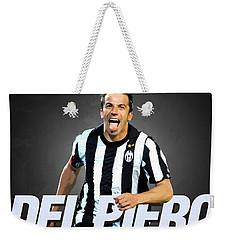 Del Piero Weekender Tote Bag by Semih Yurdabak