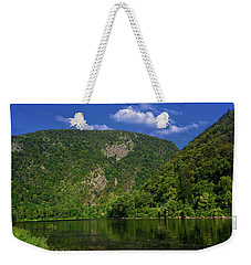 Weekender Tote Bag featuring the photograph Delaware Water Gap From New Jersey by Raymond Salani III