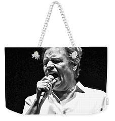 Delbert Mcclinton Sings The Blues Weekender Tote Bag