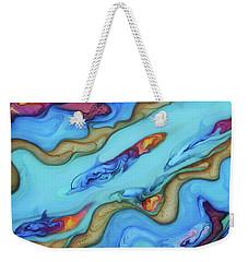 Delfines De Fuego Weekender Tote Bag