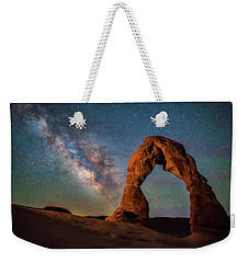 Weekender Tote Bag featuring the photograph Delicate Air Glow by Darren White
