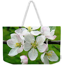 Delicate Apple Blossoms Weekender Tote Bag