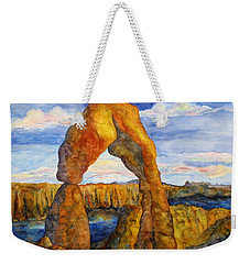 Delicate Arch Weekender Tote Bag by Patricia Beebe