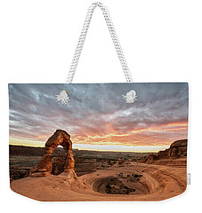 Delicate At Sunset Weekender Tote Bag