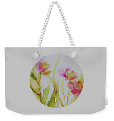 Delicate Blossoms Weekender Tote Bag by Mary Wolf