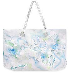 Delicate Elegance Weekender Tote Bag
