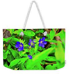 Delicate Flowers Weekender Tote Bag