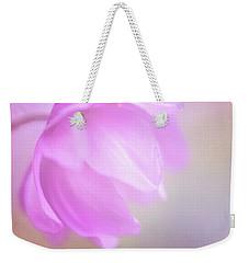 Delicate Pink Anemone Weekender Tote Bag