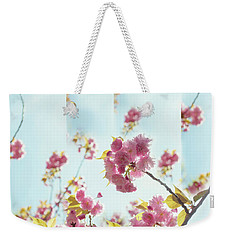 Weekender Tote Bag featuring the photograph Delicate by Rima Biswas