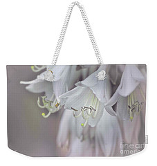 Delicate White Flowers Weekender Tote Bag