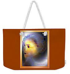 Delicate  Woman Weekender Tote Bag