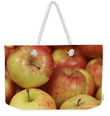 Delicious Apple Fruit Background Weekender Tote Bag