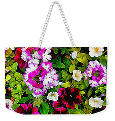 Delicious Floral Foray Weekender Tote Bag
