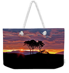 Weekender Tote Bag featuring the photograph Delightful Awakenings by Az Jackson