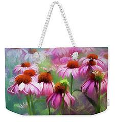 Delightful Coneflowers Weekender Tote Bag