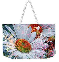 Delightful Daisies Weekender Tote Bag by Annie Zeno