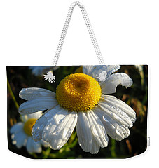 Delightful Dew Drops Weekender Tote Bag by Kent Lorentzen