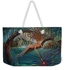 Deliverance Weekender Tote Bag by Claudia Goodell