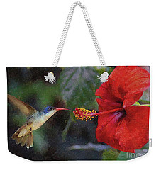 Weekender Tote Bag featuring the photograph Deliverance by John Kolenberg