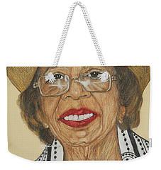 Della Willis Portrait Weekender Tote Bag