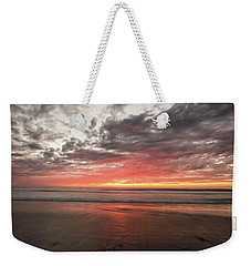 Delmar Beach San Diego Sunset Img 1 Weekender Tote Bag by Bruce Pritchett