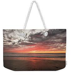 Delmar Beach San Diego Sunset Img 1 Weekender Tote Bag