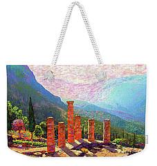 Delphi Magic Weekender Tote Bag