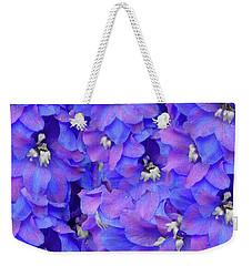 Delphinium Blue Weekender Tote Bag