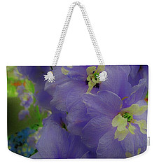 Delphinium Blues Weekender Tote Bag