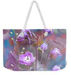Delphinium Dream Weekender Tote Bag