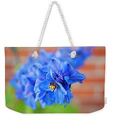 Delphinium Weekender Tote Bag