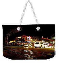 Delray Beach Railroad Crossing Weekender Tote Bag