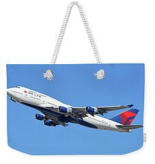 Delta Boeing 747-451 N667us Phoenix Sky Harbor October 7 2017  Weekender Tote Bag