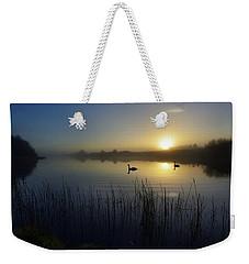 Delta Lakes Weekender Tote Bag